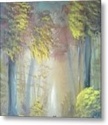 A Peaceful Journey Metal Print