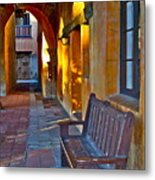 A Peaceful Resting Place Metal Print