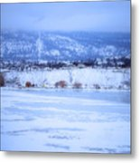 A Penticton Winter Metal Print