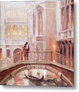 A Perfect Afternoon In Venice Metal Print