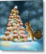 A Perfect Christmas Tree Metal Print