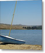 A Perfect Day For Sailing Metal Print