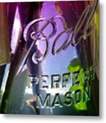 A Perfect Mason... Metal Print