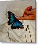 A Personal Touch Metal Print