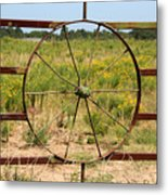 A Picture Within A Picture Metal Print