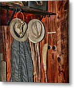 A Place To Keep My Hat Metal Print