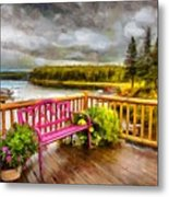 A Place To Relax And Enjoy Metal Print