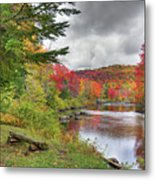 A Place To View Autumn Metal Print