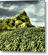 A Pointed Hilltop Metal Print
