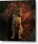 A Portrait Of Coco Metal Print