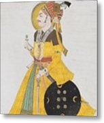 A Portrait Of Maharana Metal Print