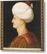 A Portrait Of Suleyman Metal Print