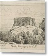 A Powder Magazine In Central Park From Scenes Of Old New York, By Henry Farrer, 1844-1903 Metal Print