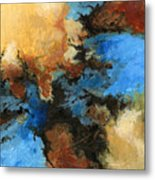 A Precious Few Abstract Metal Print