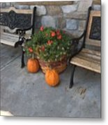 A Promise Of An Amish Harvest Metal Print