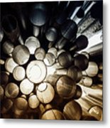 A Question Of Perspective On Sibelius Monument Metal Print
