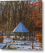 A Quiet Place-fall Time-winter Metal Print