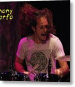 A Real Drummer Metal Print