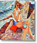 A Relaxing Moment Metal Print