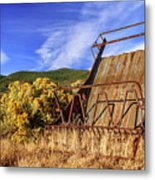 A Reminder Of The Past Metal Print