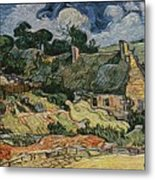 a replica of the landscape of Van Gogh Metal Print