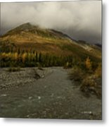 A River Runs Through The Brooks Range Alaska Metal Print