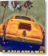 A Road Of Worry A Trunk Full Of Possabilities Metal Print