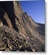 A Rock Face On Cloud Peak In The Big Metal Print