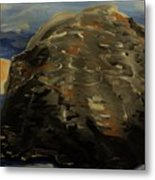 A Rock Metal Print by Marie Bulger