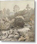 A Rocky Stream Metal Print
