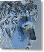 A Roman In Profile Metal Print