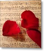 A Romantic Note Metal Print
