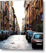 A Rome Street Metal Print