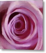 A Rose Abstract Metal Print