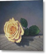 A Rose For The Little Lady Metal Print