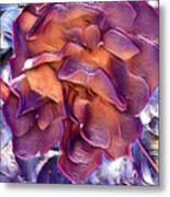 A Rose Of Red Metal Print