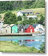 A Row Of Four Metal Print