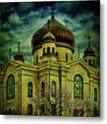 A Russian In Brooklyn Metal Print