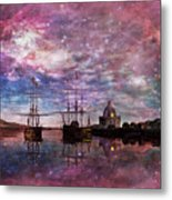 A Safe Anchorage Metal Print