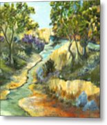 A Sandy Place To Rest Metal Print