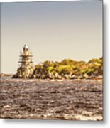 A Seashore Construction Metal Print