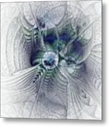 A Secret Sky - Fractal Art Metal Print
