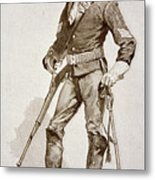 A Sergeant Of The Us Cavalry Metal Print