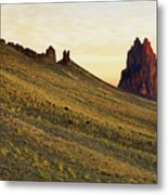 A Shiprock Sunrise - New Mexico - Landscape Metal Print
