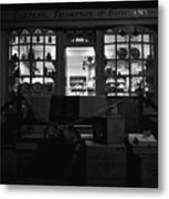 A Shopkeeper Metal Print