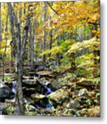 A Smokey Mountain Stream  Metal Print