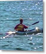 A Solitary Afternoon 2015 Metal Print