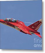 A Special Painted Yak-130 Performing Metal Print
