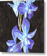A Spray Of Orchids Metal Print