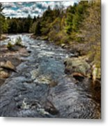 A Spring Day At Little Woodhull Creek Metal Print